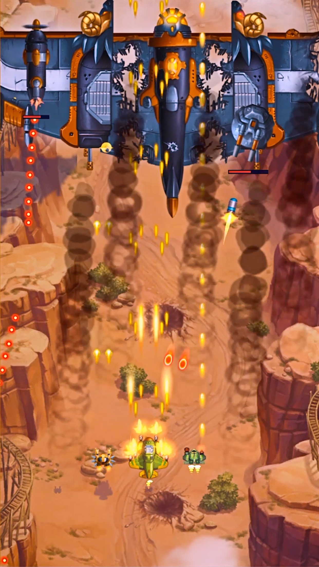 HAWK:طائرات حربية، لعبة الفضاء Screenshot