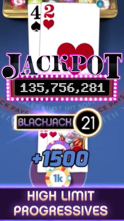 myVEGAS Blackjack – Casino screenshot-4