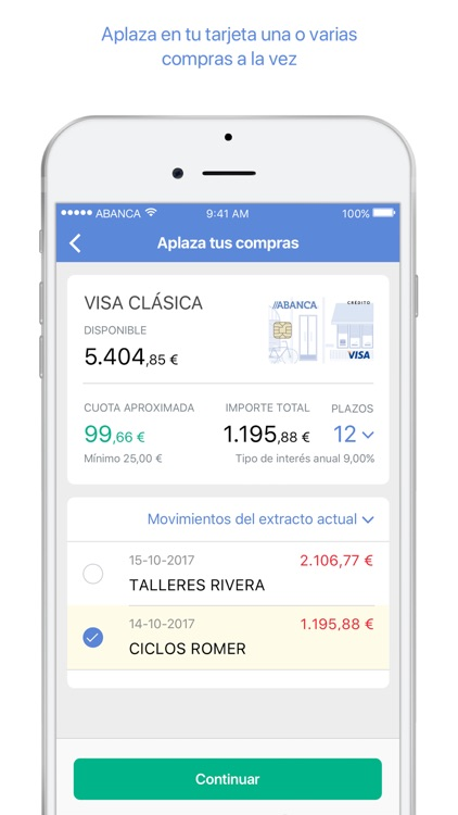 ABANCA - Mobile banking screenshot-3