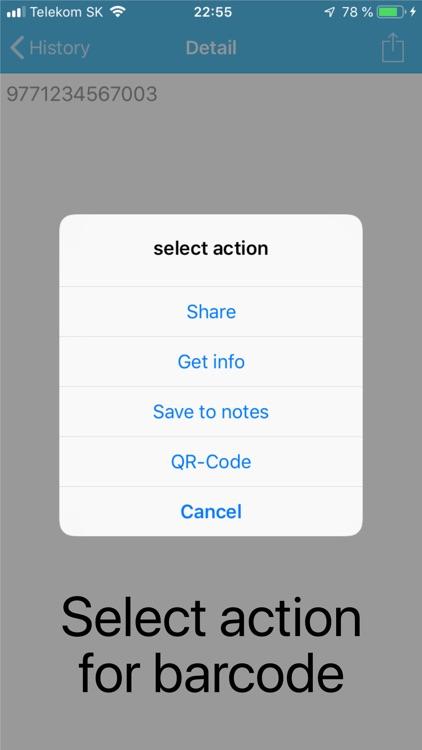 Barcode & QR code - Pro screenshot-6