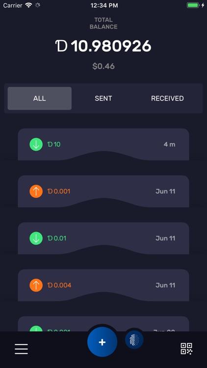 DigiByte screenshot-3