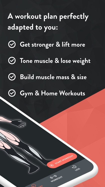 Fitbod Weight Lifting Workout
