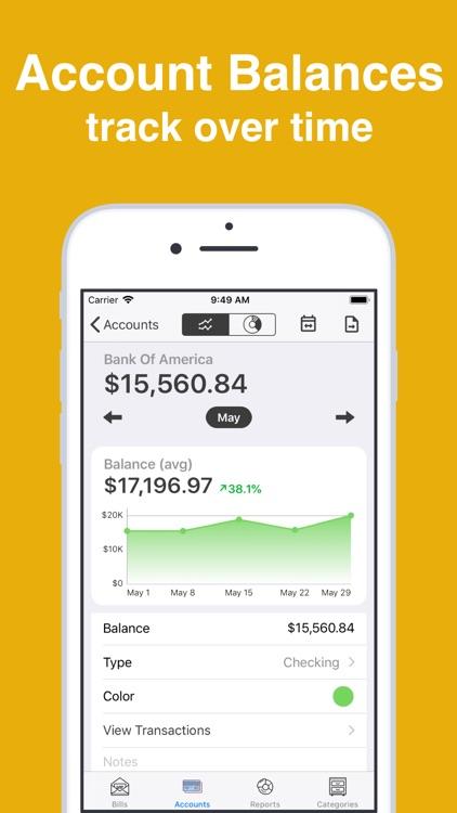 Bill Tracker Pro screenshot-3