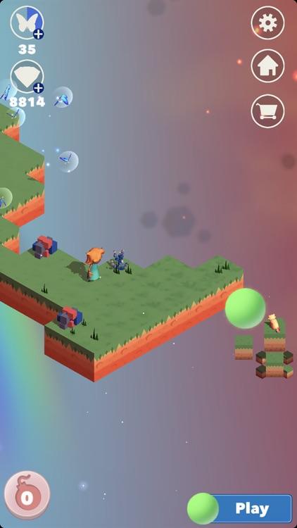 Kim's Cat Rescue: Puzzle Quest screenshot-4