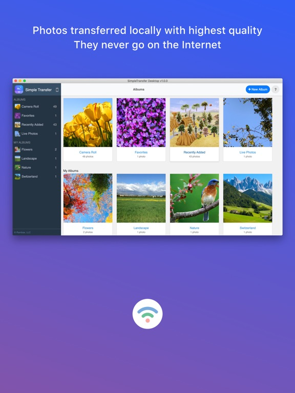 Simple Transfer Pro - Photos Screenshots