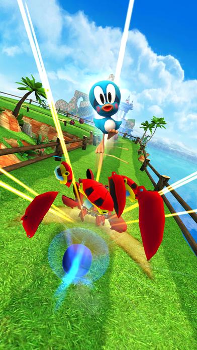 Screenshot from Sonic Dash