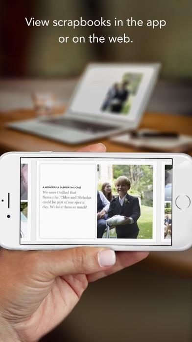 Keepsayk instant scrapbook® photo books screenshot