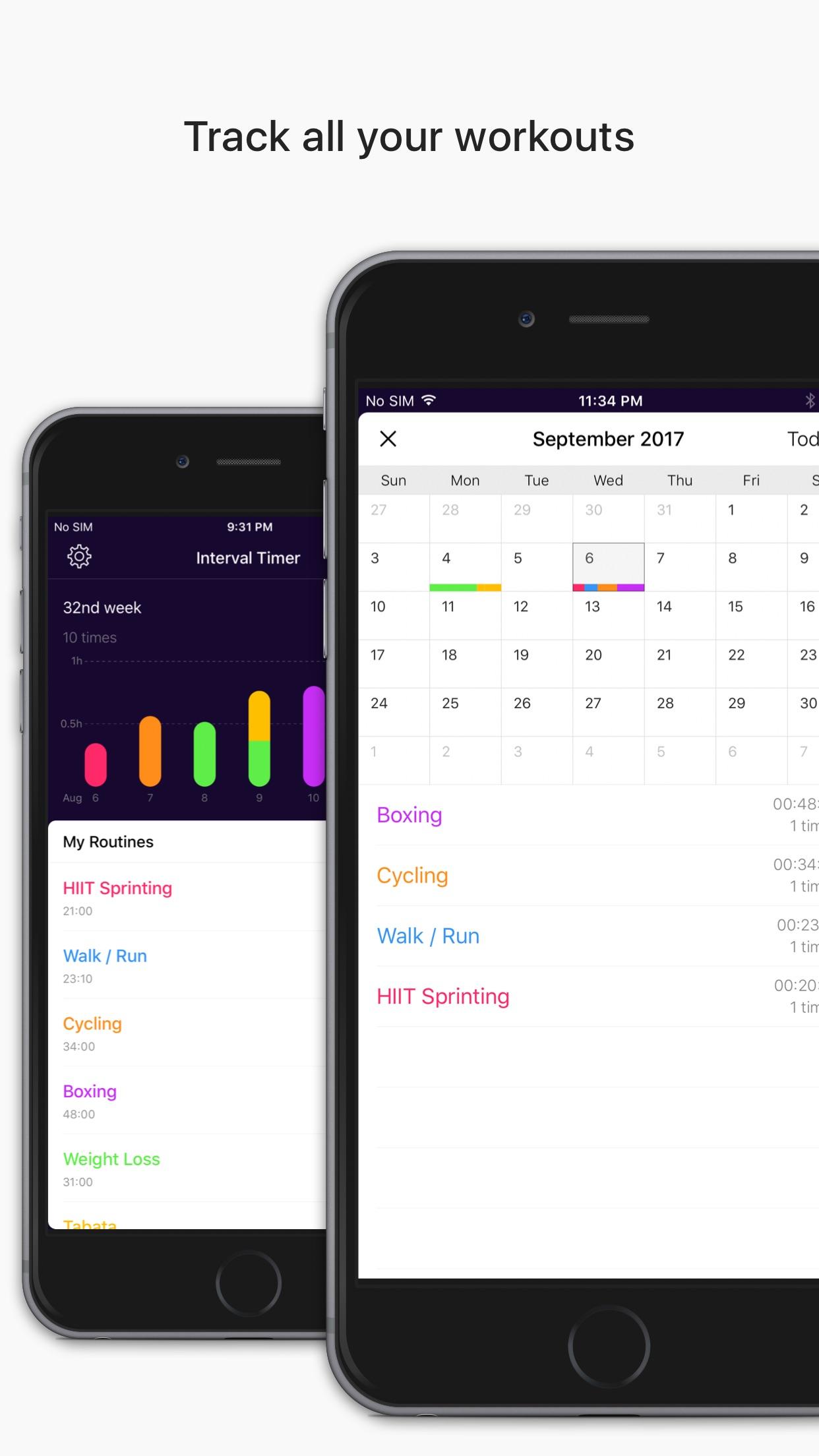 Interval Timer Pro Screenshot