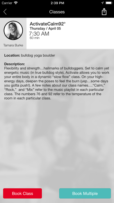 bulldog yoga screenshot three
