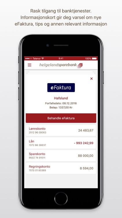 Helgeland Sparebank Mobilbank