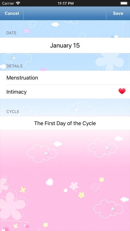 Fertility & Period Tracker screenshot-3