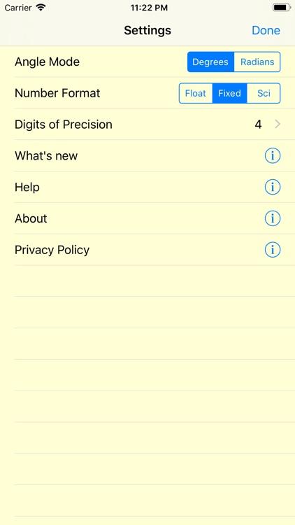 No Equal RPN Calculator screenshot-3