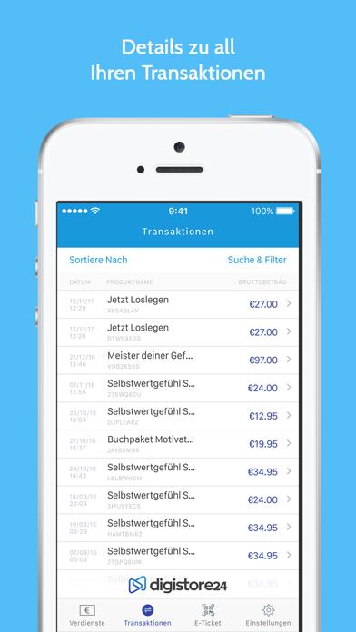 Screenshot for Digistore24 in Austria App Store
