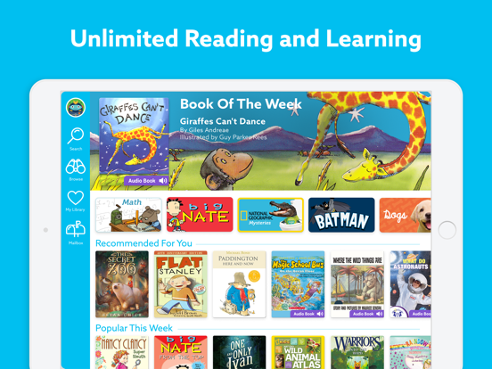 iPad Image of Epic! - Kids' Books and Videos