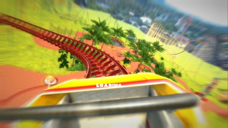 Roller Coaster VR Theme Park screenshot-1