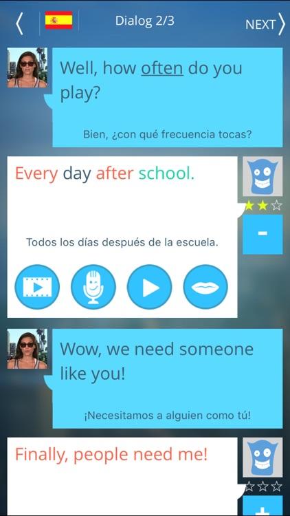 Speak King - English screenshot-3