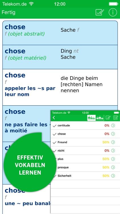 Wörterbuch Französisch screenshot-4