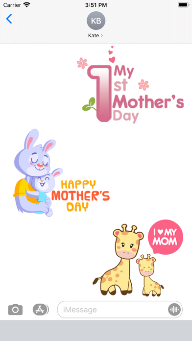 Happy Mothers Day Animated Gif screenshot 1