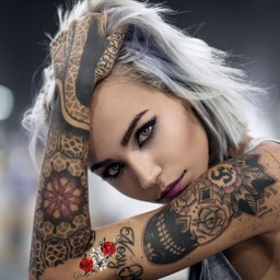 Tattoo on your photo
