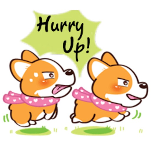 Super Cute Corgi Dog Stickers