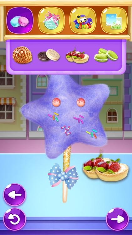 Cotton Candy Maker-Street Food screenshot-7