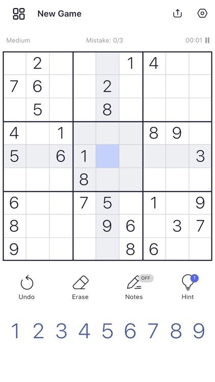 Sudoku: Sudoku Puzzles screenshot-0