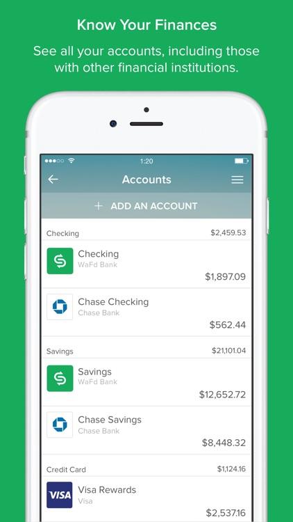 MoneySync by WaFd Bank