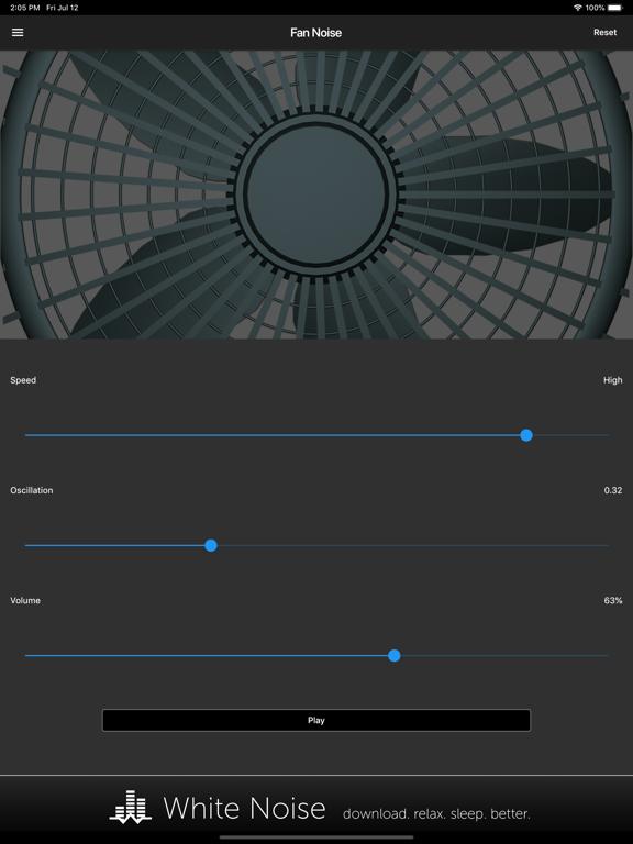 Fan Noise Generator screenshot 3
