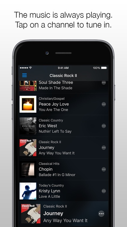 Channels Car Music Player