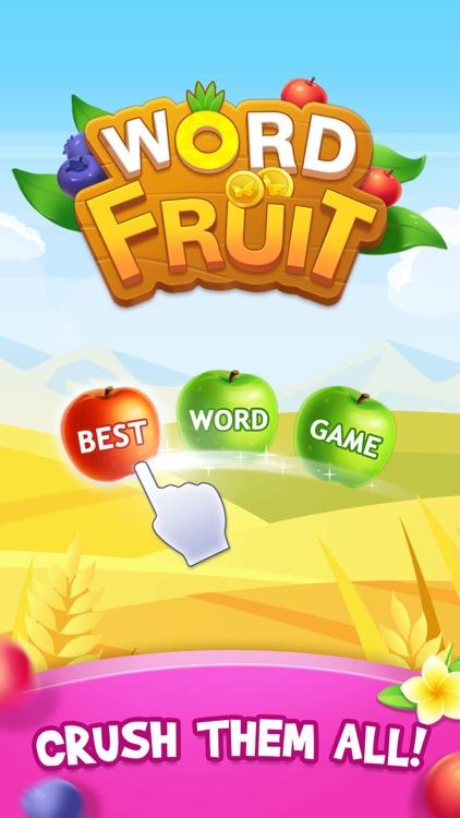 Word Fruit: Relaxing mind game screenshot-3