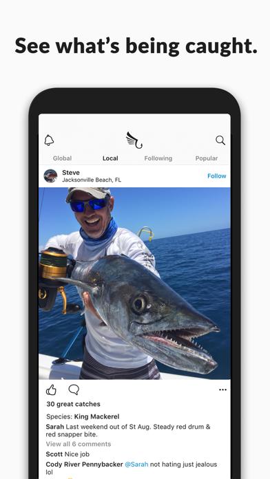 FishHawk - Social Fishing Reports, Forecast & Spots screenshot