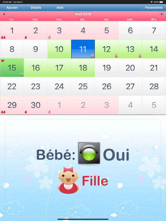 Calendrier Ovulation Et Regle.Telecharger Calendrier Regles Ovulation Pour Iphone Ipad