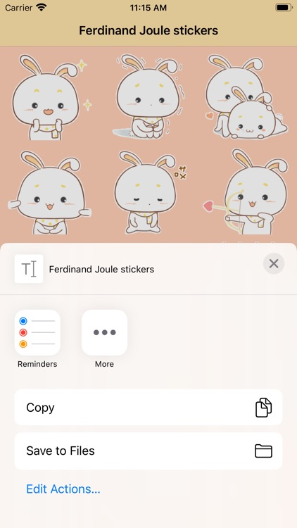 Ferdinand Joule stickers screenshot-3