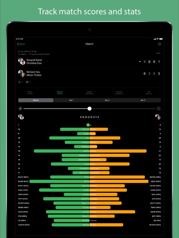 Screenshot #5 pour SwingVision - A.I. Tennis App