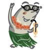 download Funny mole emoji - stickers