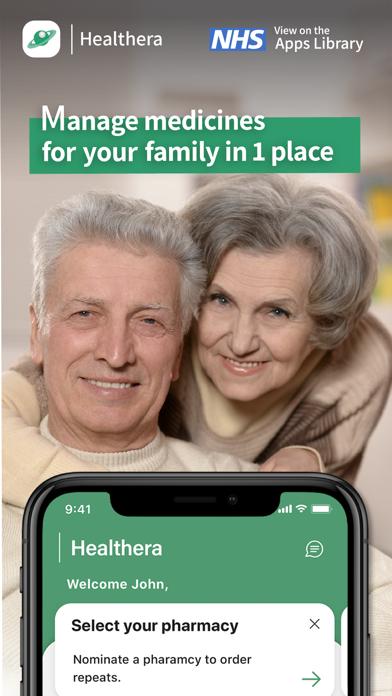 Healthera NHS Prescription App screenshot four