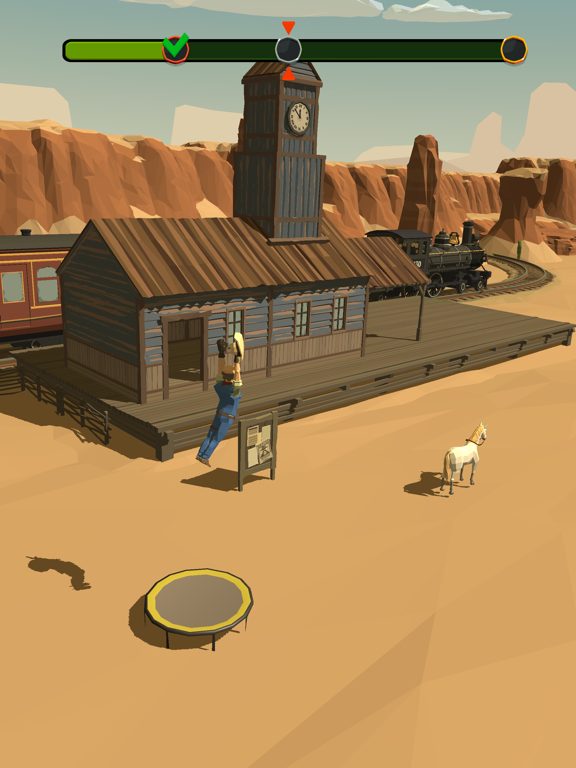 Cowboy Flip 3D screenshot 10