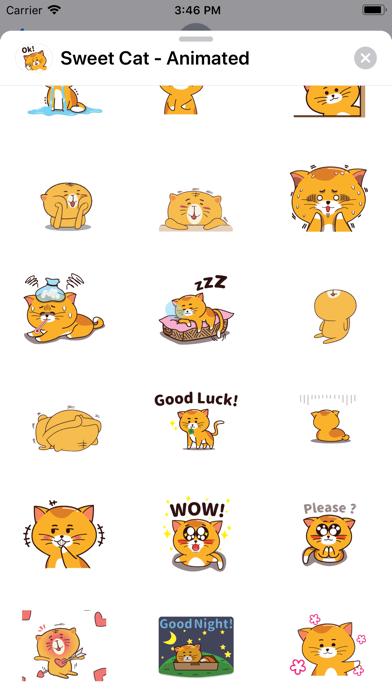 Sweet Cat - Animated screenshot 5