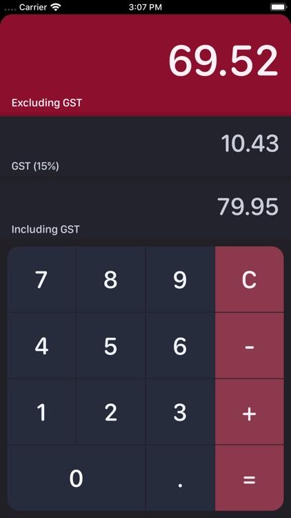 NZ GST Calculator screenshot-3