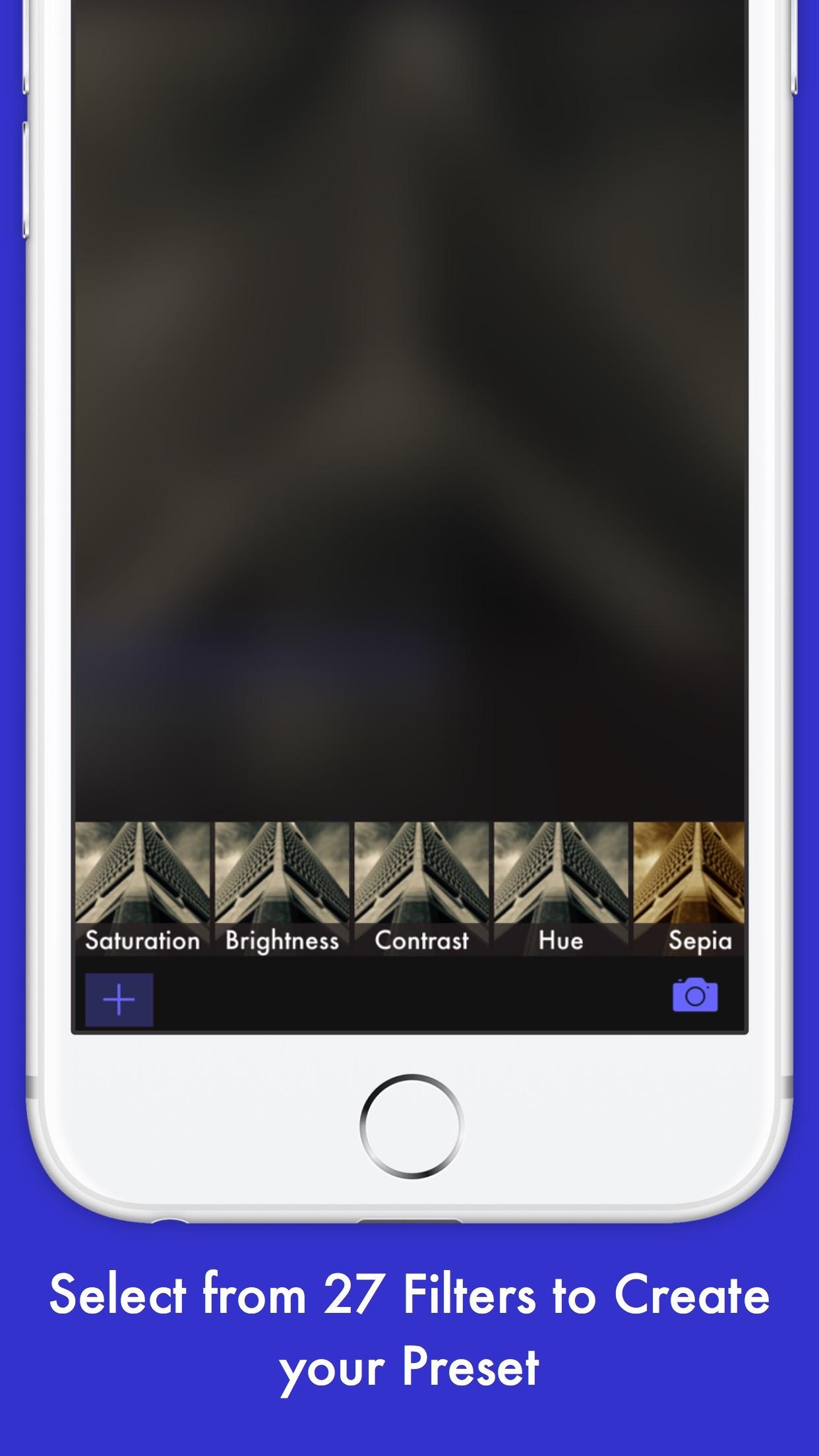 Screenshot do app Preset