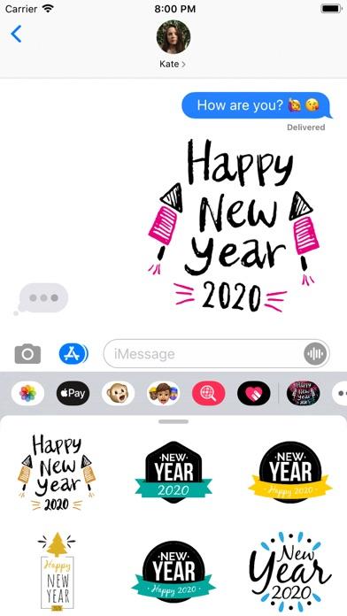 Hello 2020! Happy New Year! screenshot 1
