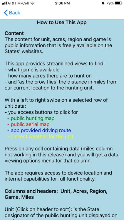 Public Hunting Texas screenshot-9