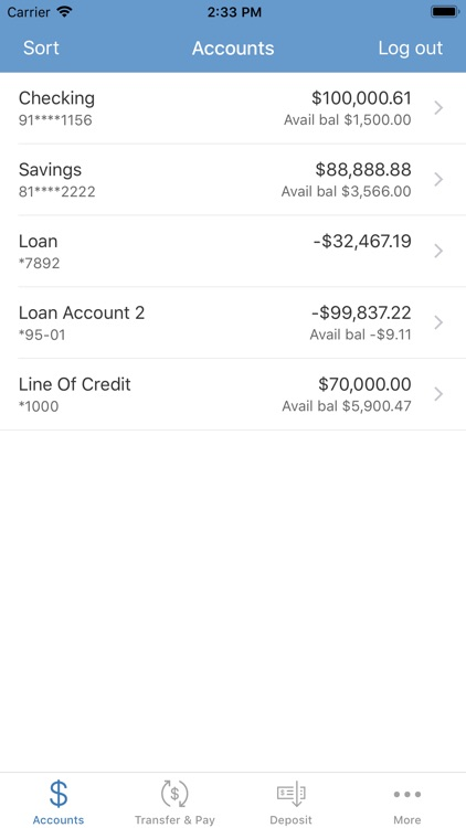 The Farmers Bank Mobile App screenshot-2