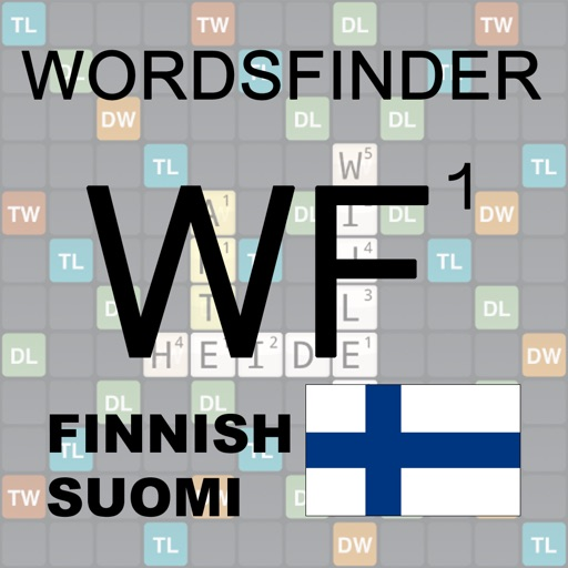 WordsFinder Wordfeud Finnish