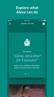 Amazon Alexa iphone images