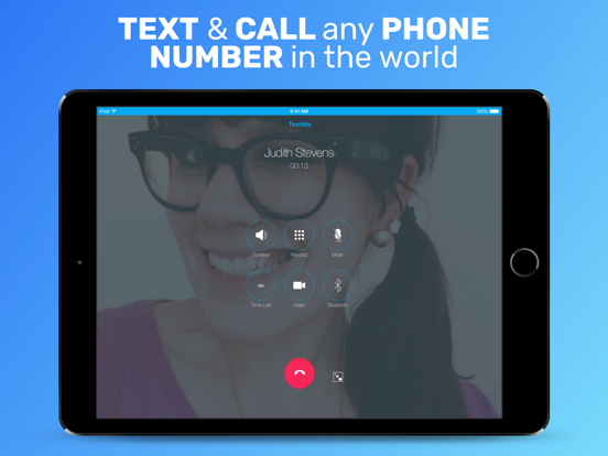 Text Me! - Free Texting and Messaging + Free Phone Calls + Free Video Call screenshot