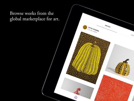 Artsy –– Collect and Bid on Fine Art & Design screenshot