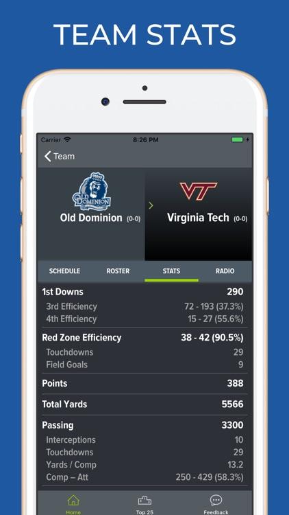 Virginia Tech Football screenshot-4