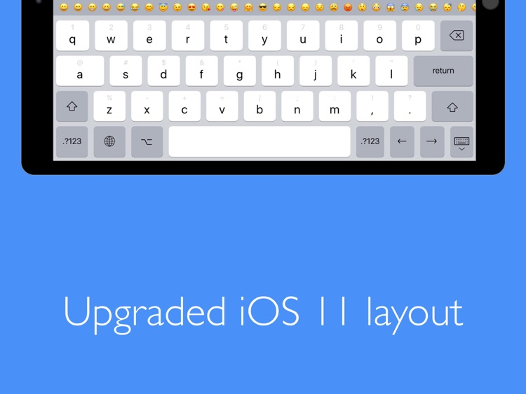 Pro Keyboard with PC Layout screenshot-3