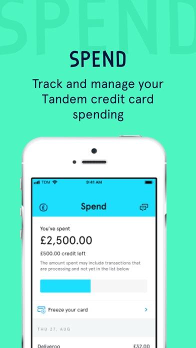 Tandem Bank screenshot three